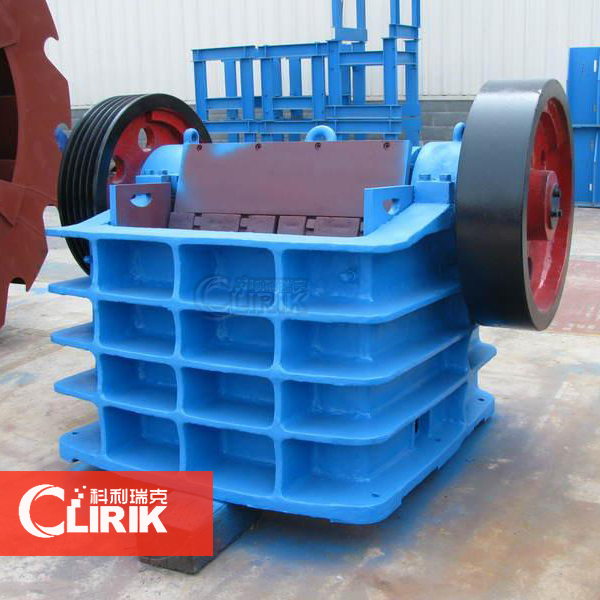 2014 PE jaw crusher
