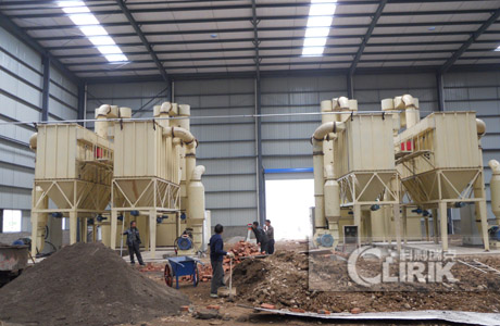 Turkey pumice crushing production line